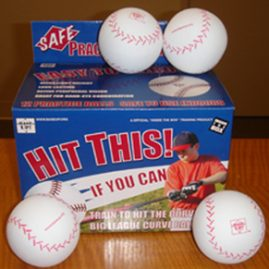 """Hit this! If you can."" Training Balls"