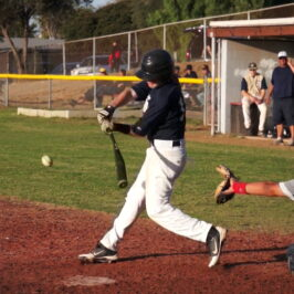 Hitting the ball where it is pitched